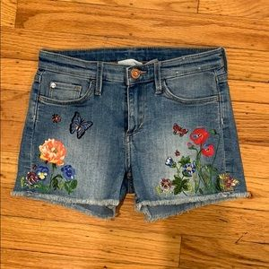H&M Denim Shorts, size 6-7